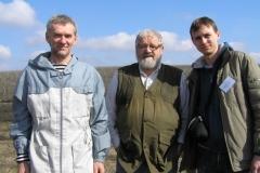 Sepp Holzer, Nikolai Popkov and Sergey Cherenkov - practical workshop in Kuchugury 2011